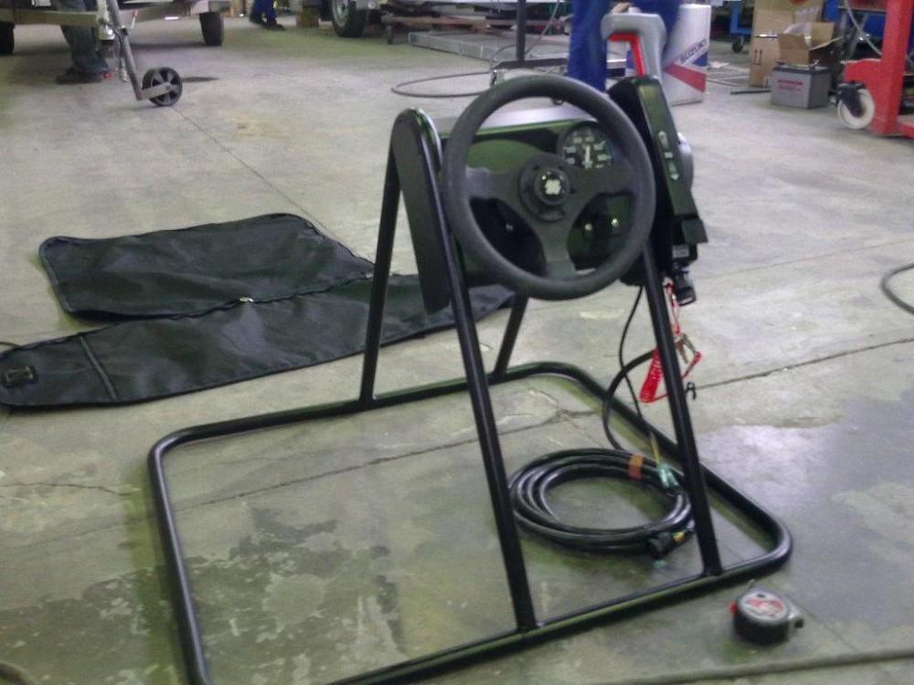 Рулевая консоль для ПВХ лодки