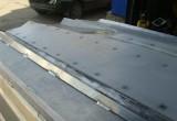 Подшивание лодки высокомолекулярным полиэтиленом
