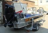 Wellboat 52Jet + Suzuki DF140 с водометной насадкой