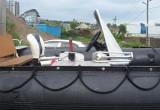 Zodiac Futura Mark III + Suzuki DF50TS с водометной насадкой