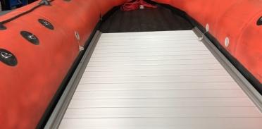 Жесткий алюминиевый пол в лодки НДНД