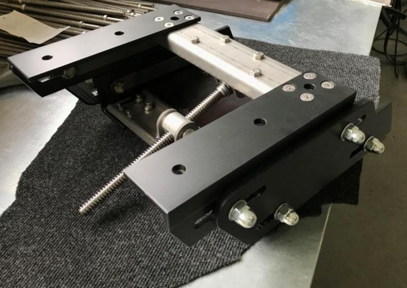 Малый регулируемый транец винт/водомет для моторов до 90кг.