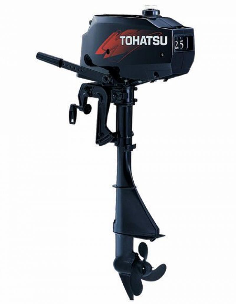 Лодочный мотор Tohatsu M2,5A2S