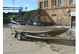 Wellboat 50 + Suzuki DF90 с водометной насадкой